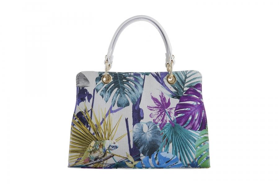 Handbag in tessuto Canetti