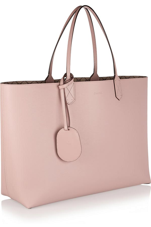 borsa shopping gucci rosa
