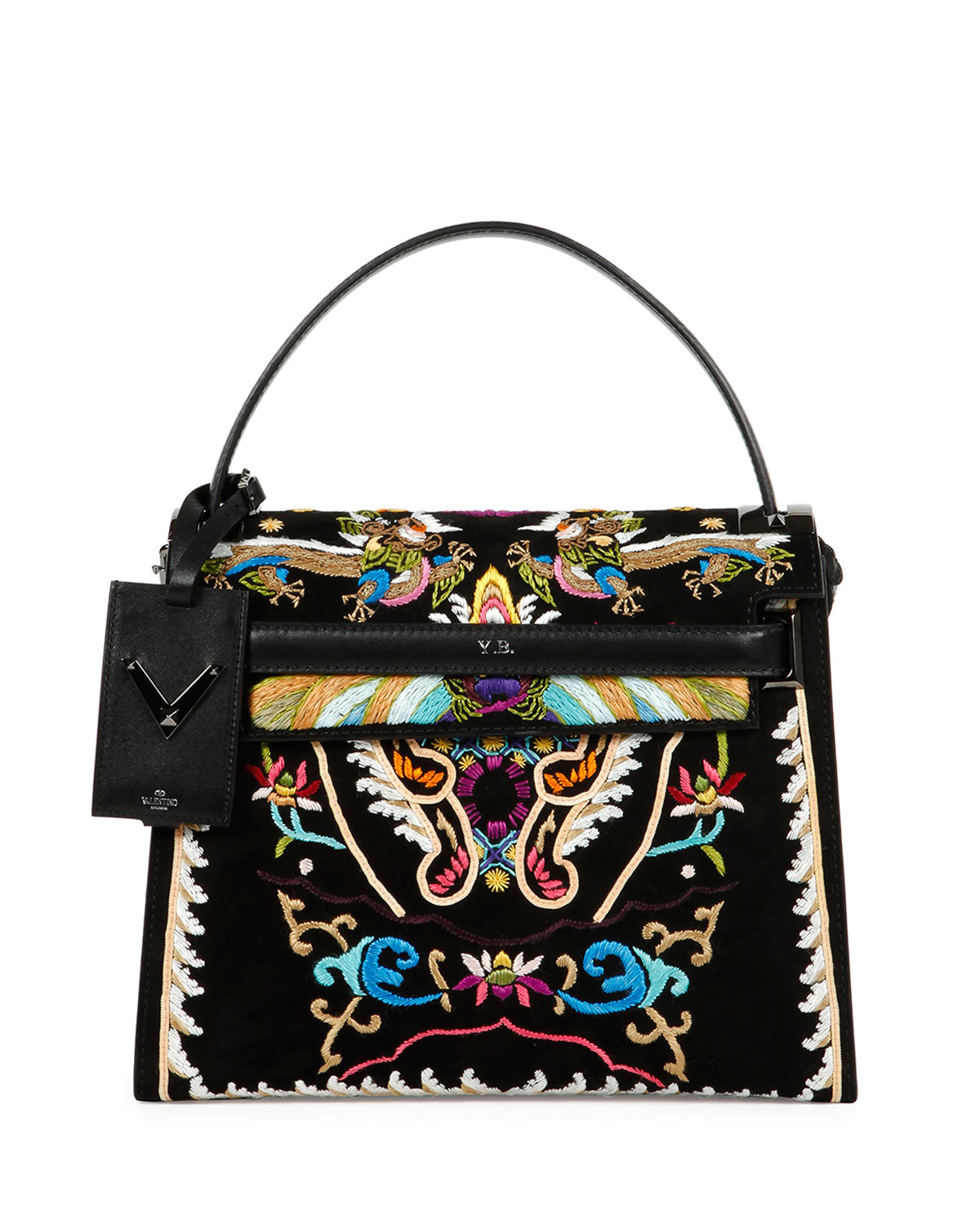 My Rockstud Embroidered Flap Bag – Valentino – 2015
