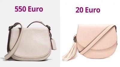 Inspired Bag da Coach Saddle bag
