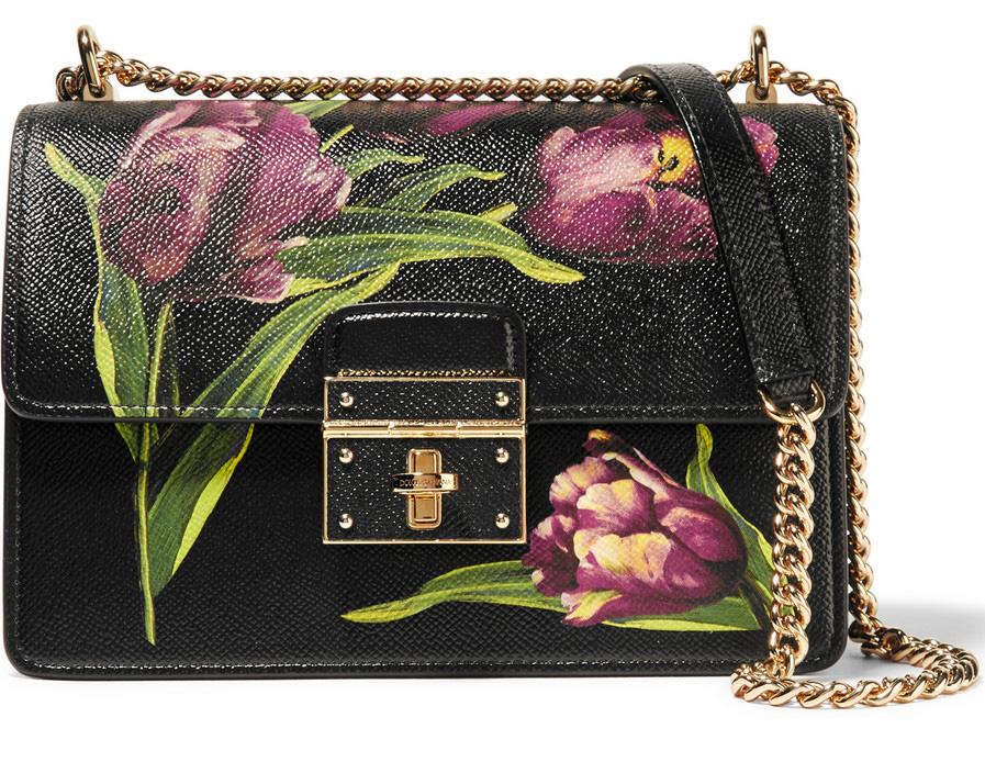 Borsa a tracolla Dolce & Gabbana Rosalia Floral 2016