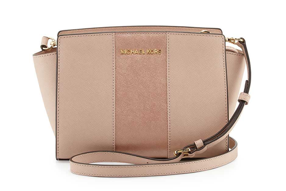 Borsa a tracolla Michael Kors Selma Medium Metallic 2015