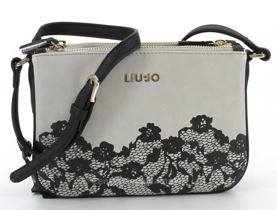 negozio online 6d427 954f1 Borsa effetto pizzo Tracolla Liu Jo Prezzo e dimensione ...