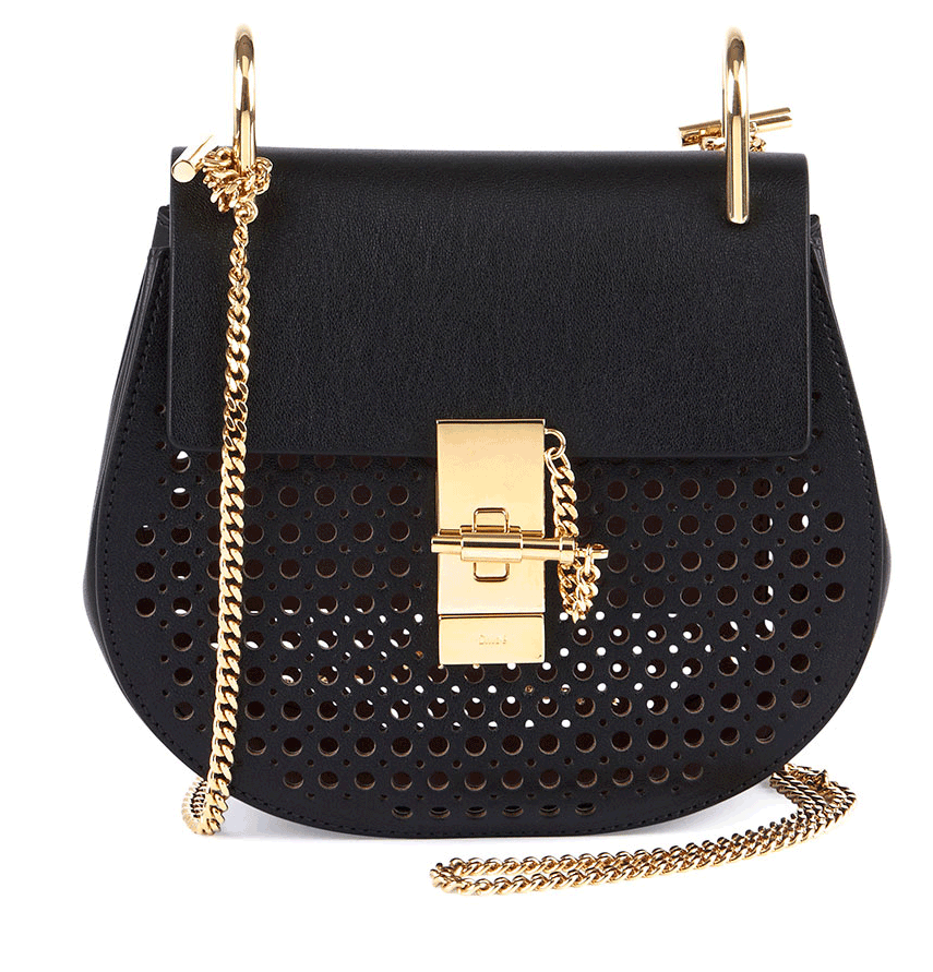 Borsa tracolla in pelle traforata Drew Perforated Mini Shoulder Bag Chloe 2015