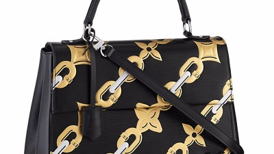 Louis Vuitton lancia la nuova stampa con catene e fiori