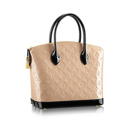 Borsa Monogramme in vernice Louis Vuitton Lockit PM 2015 12dfb205a51