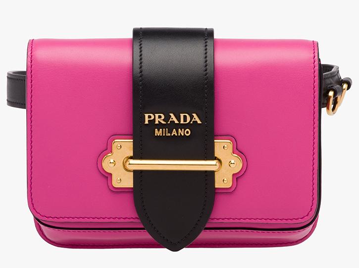 Borsa Prada Cahier: la custodia scrigno per gli oggetti più preziosi  controlla originalità