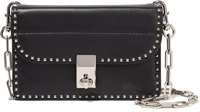 Mini-borsa a spalla The Rockstud Valentino